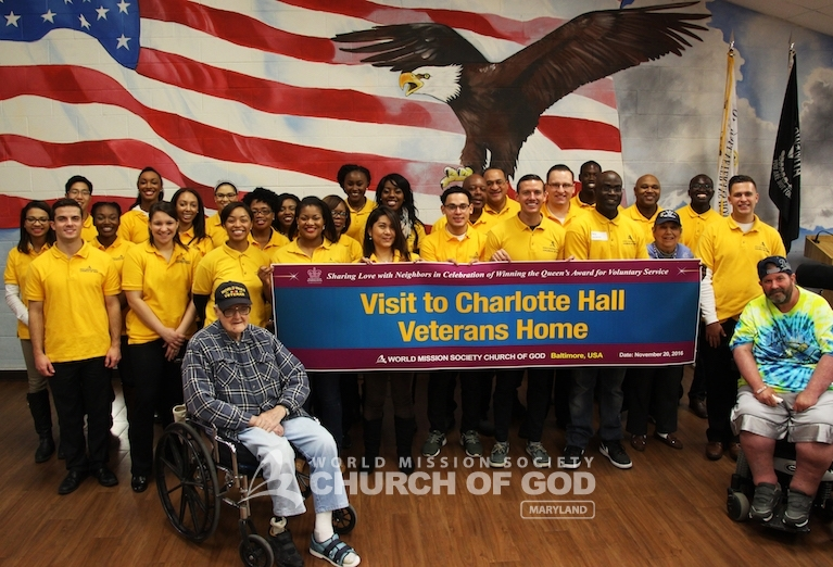 Honoring Our Veterans at Charlotte Hall