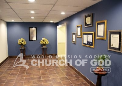 World Mission Society Church of God in Maryland Welcome Area