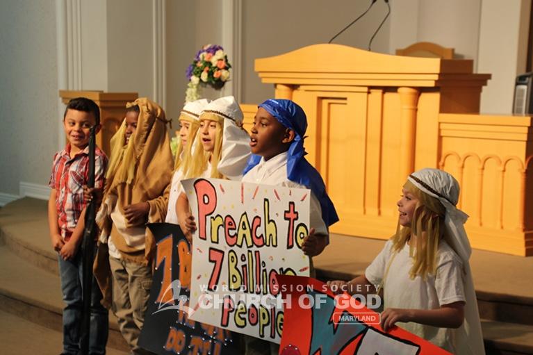 Children's Group Hosts Biblical Play