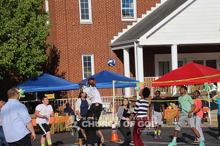 family bbq, world mission society church of god in maryland