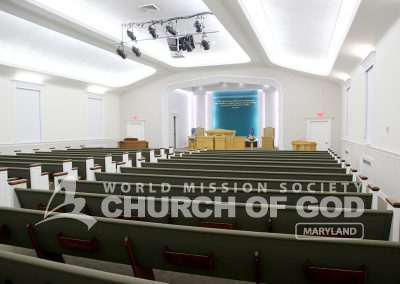 World Mission Society Church of God in Maryland Sanctuary