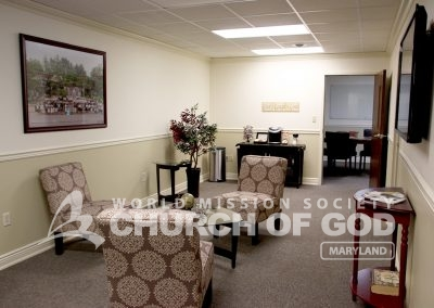 World Mission Society Church of God in Baltimore Study Room