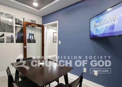 World Mission Society Church of God, WMSCOG, Maryland, MD, Bible study, room