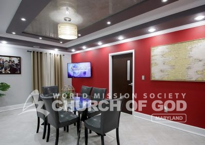 World Mission Society Church of God, Maryland, MD, North America, Bible study, room