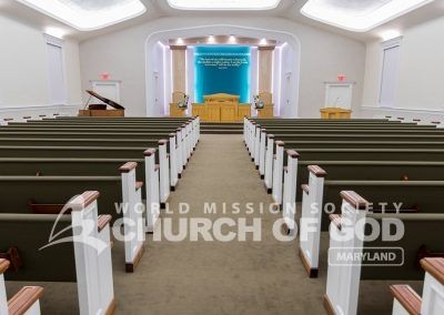 World Mission Society Church of God, WMSCOG, Maryland, MD, Sanctuary